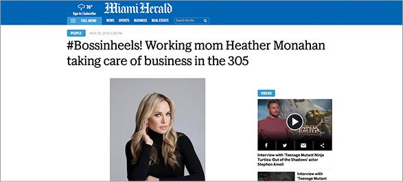 Miami Herald Heather Monahan