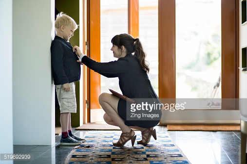 Working mother's tips Boss in Heels