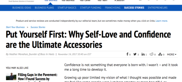 Put Yourself First: Why Self-Love and Confidence are the Ultimate Accessories
