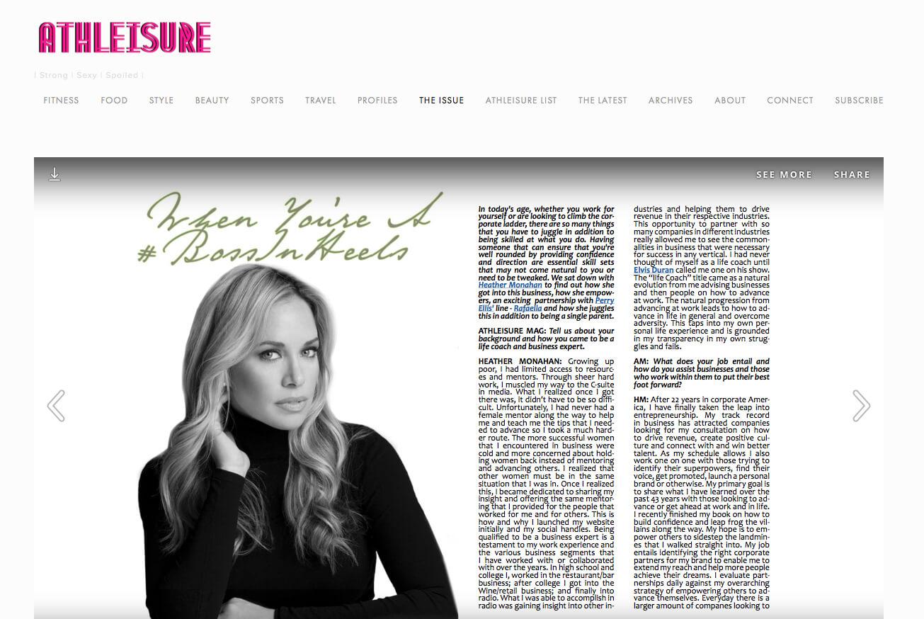athleisuremag.com Heather Monahan