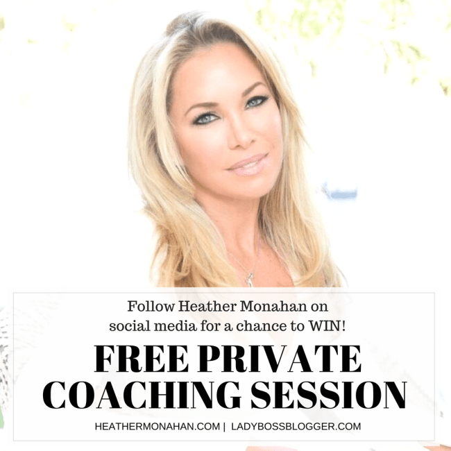 Private Coaching Session with Heather Monahan