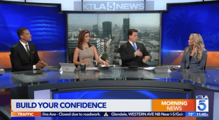 KTLA Morning News build confidence
