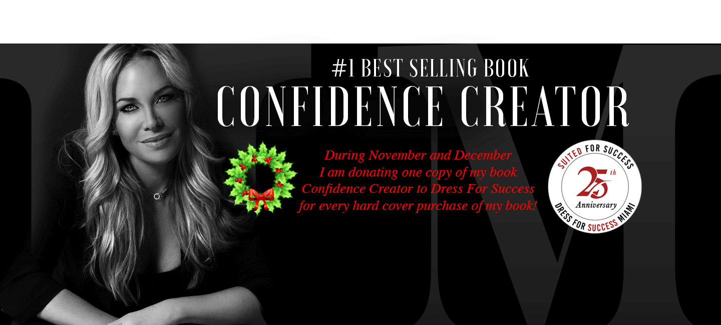 Donating Books in November and December ! Confidence Creator Book - Amazon Best Seller
